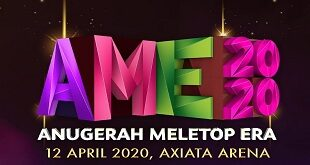 Anugerah Meletop Era (AME) 2020 Live Tonton Online Video